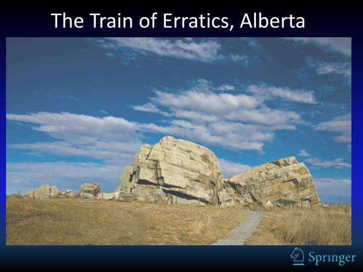 The Train of Erratics, Alberta