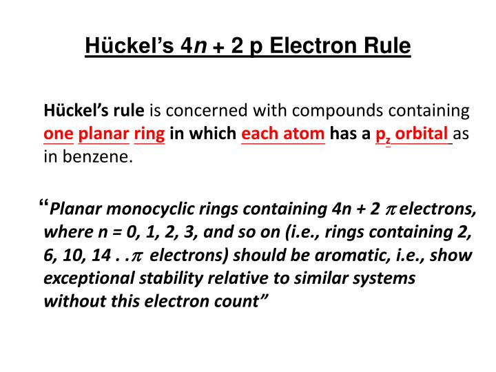 how to tell if ring without carbon is aromatic