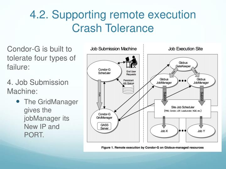 4.2. Supporting remote execution