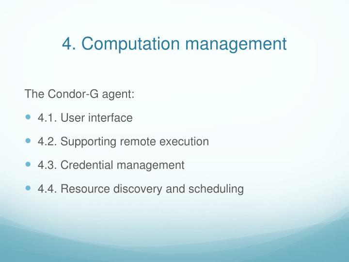 4. Computation