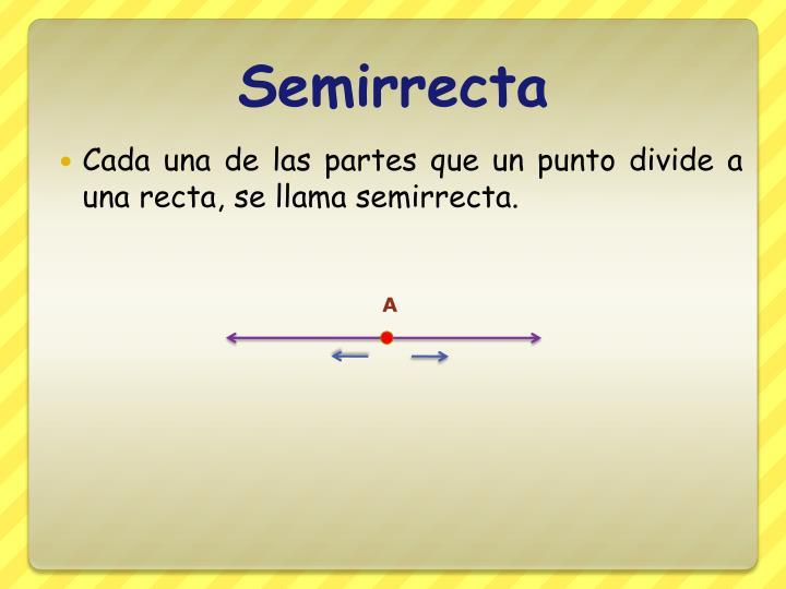 Semirrecta