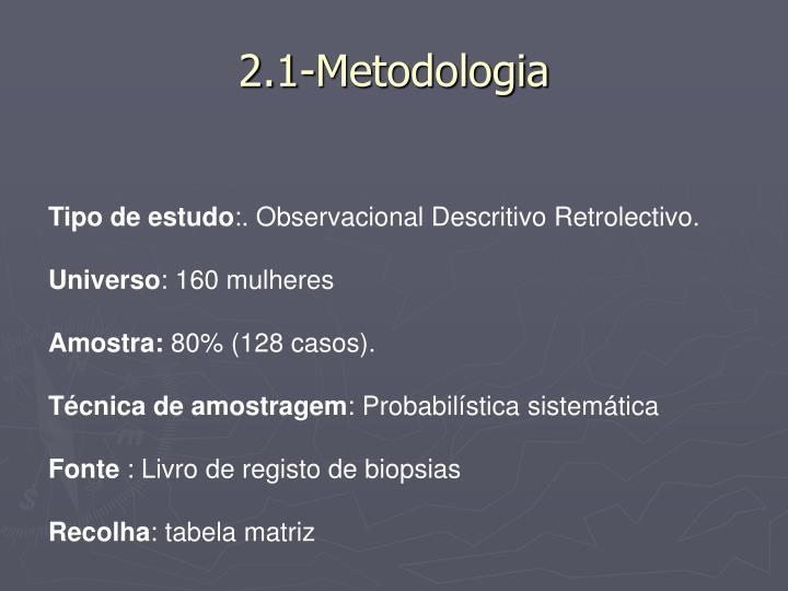 2.1-Metodologia