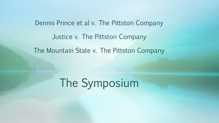 Dennis Prince et al v. The Pittston Company