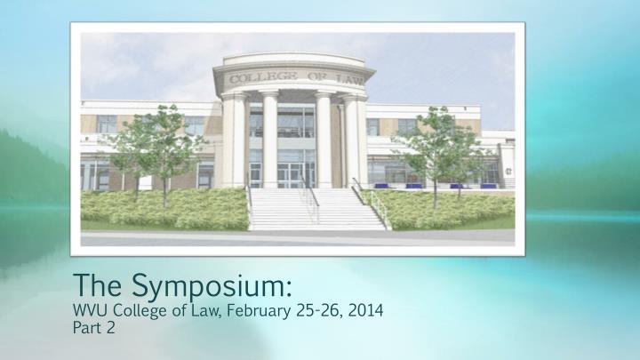 The Symposium: