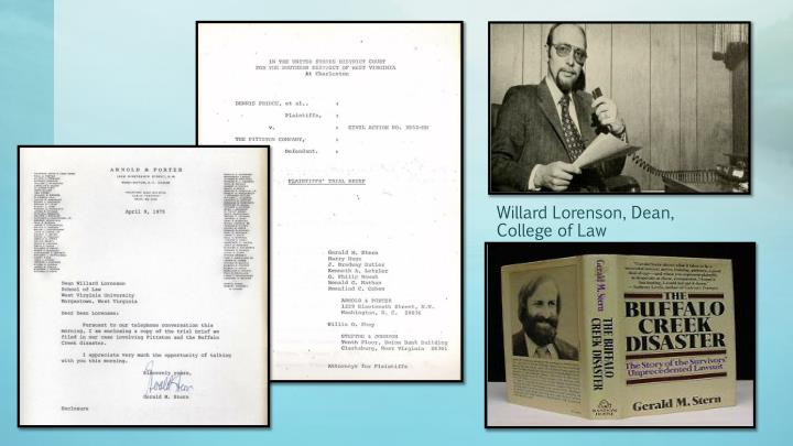 Willard Lorenson, Dean,
