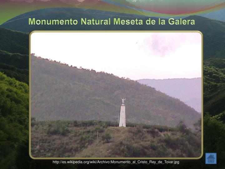 Monumento Natural Meseta de la Galera