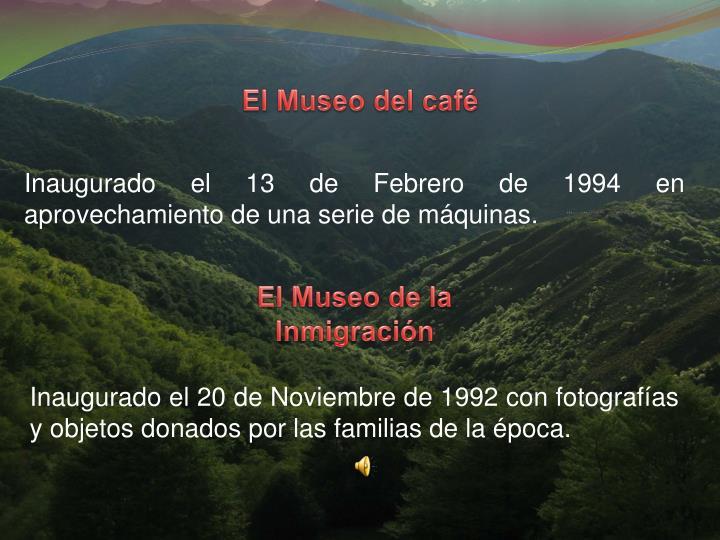 El Museo del caf