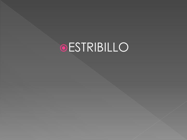 ESTRIBILLO