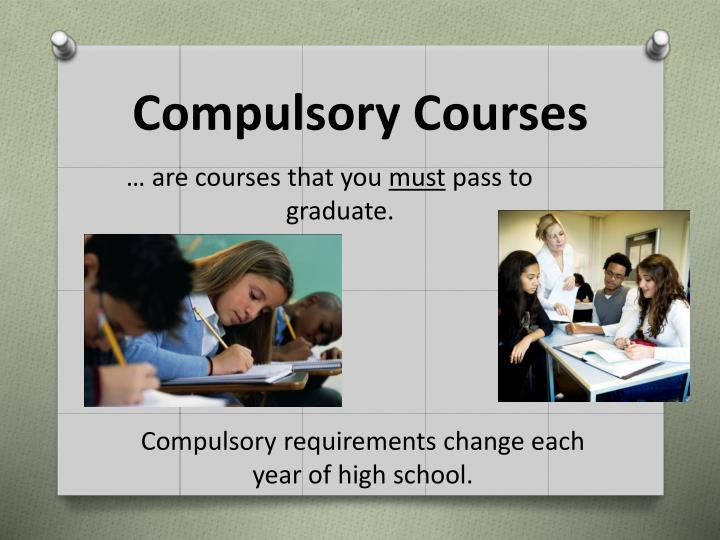 Compulsory Courses