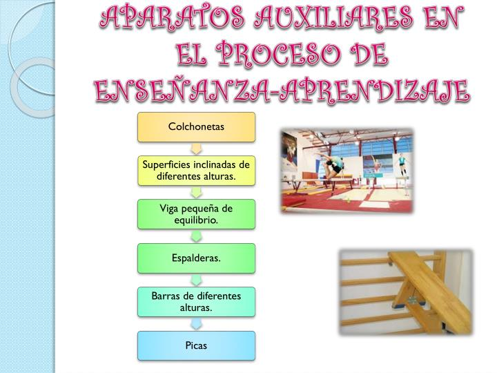 APARATOS AUXILIARES EN EL PROCESO DE ENSEÑANZA-APRENDIZAJE