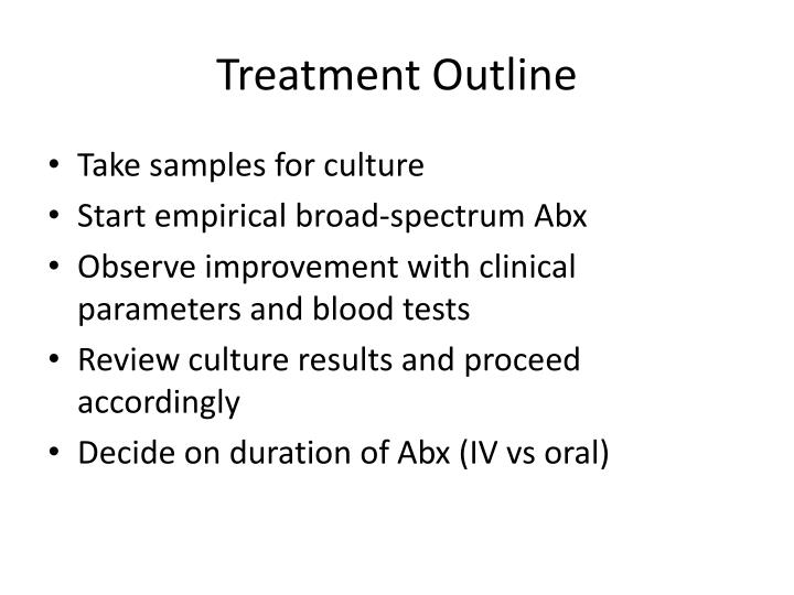 Treatment Outline