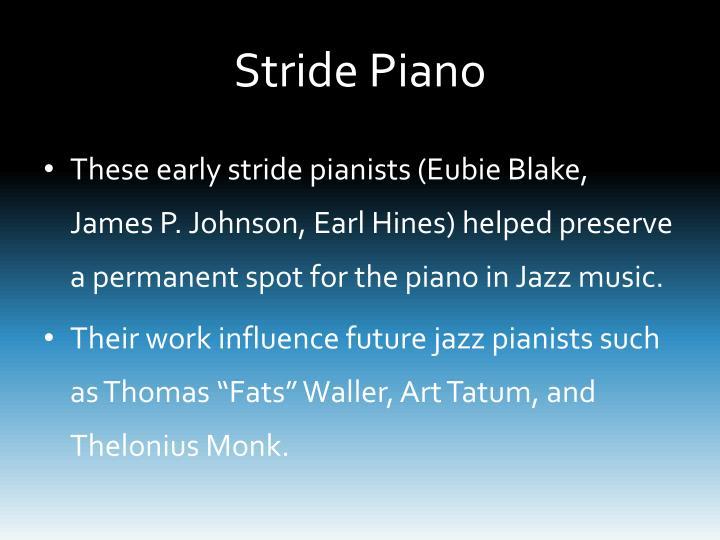 Stride Piano