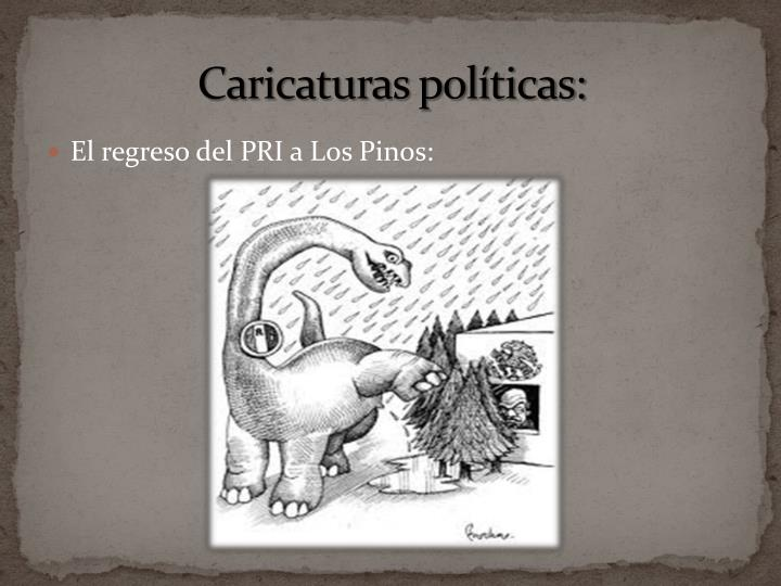 Caricaturas políticas: