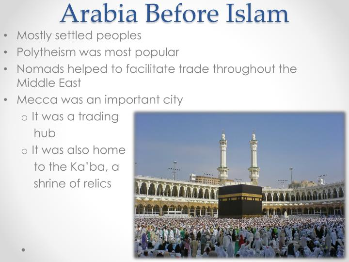 Arabia Before Islam