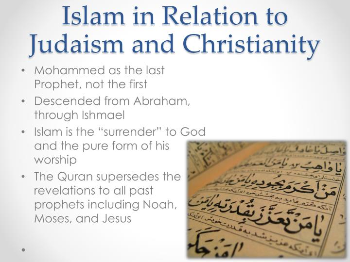 Islam in Relation to Judaism and Christianity