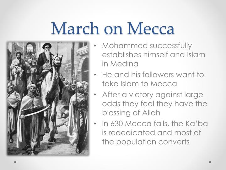 March on Mecca