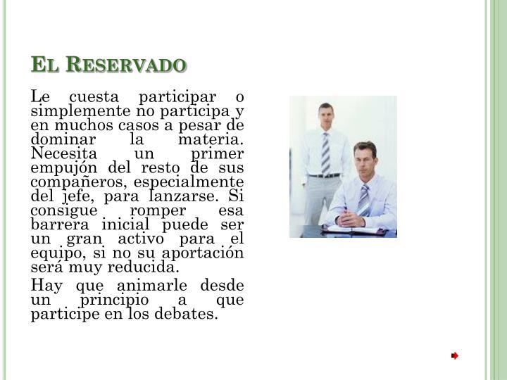 El Reservado