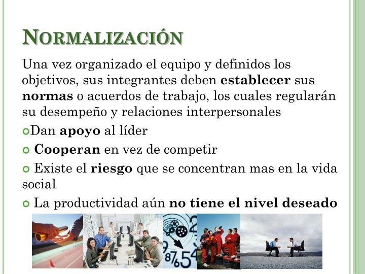 Normalización