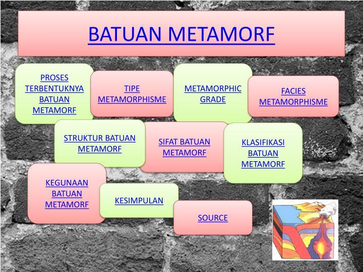 BATUAN METAMORF