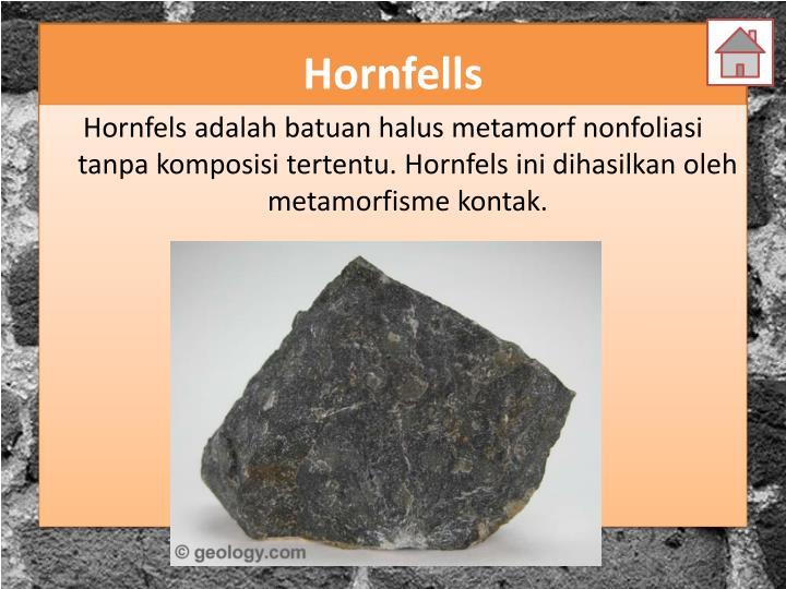 Hornfells