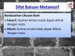 sifat batuan metamorf2