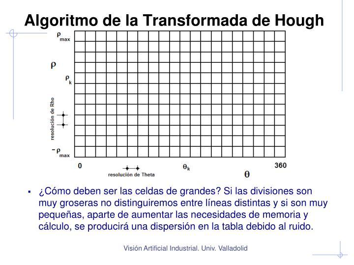 Algoritmo de la Transformada de Hough