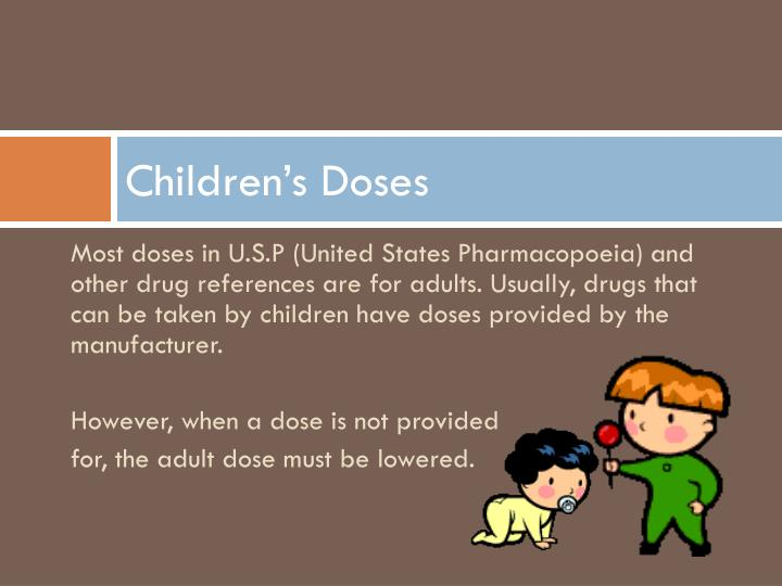 Children's Doses