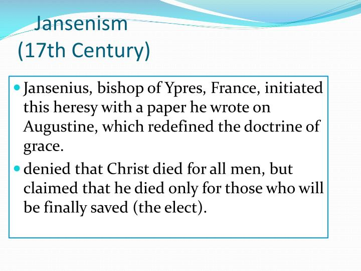 Jansenism
