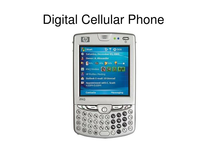 Digital Cellular Phone