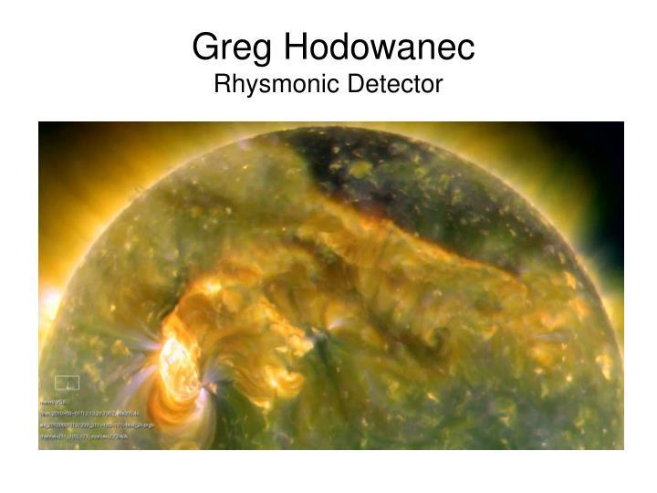 Greg Hodowanec