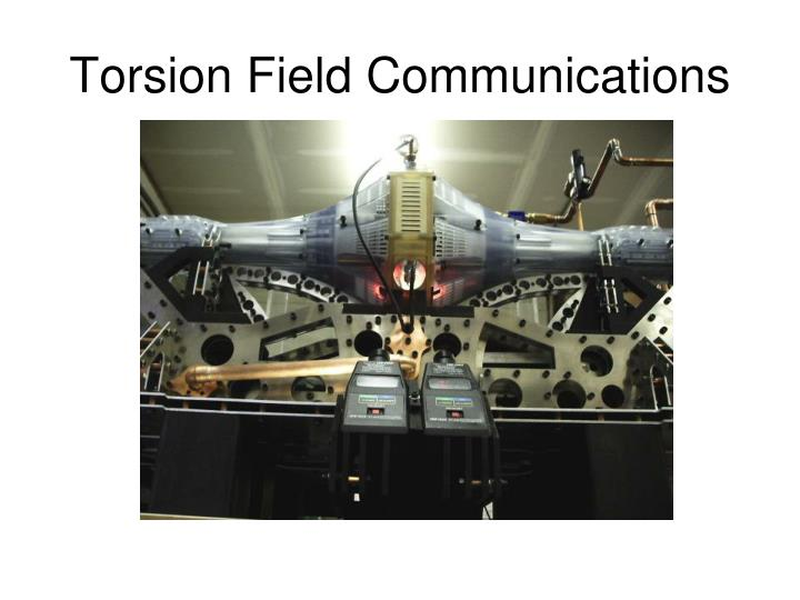 Torsion Field Communications