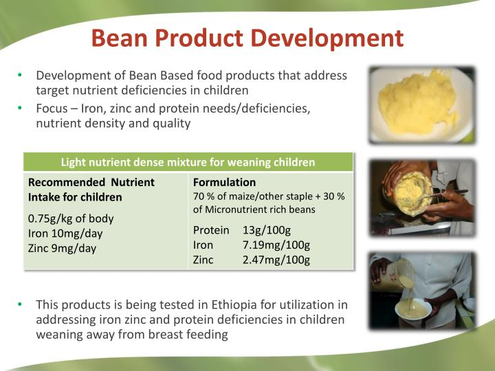 Bean Product