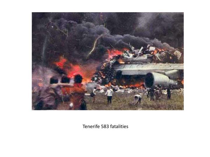 Tenerife 583 fatalities