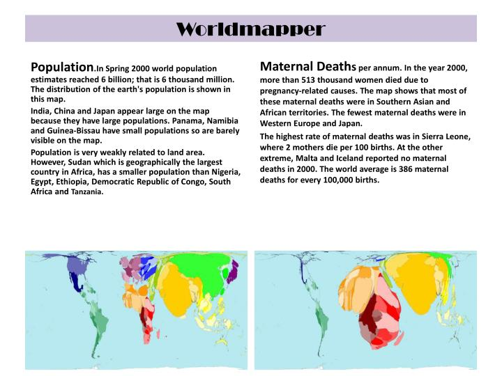 Worldmapper