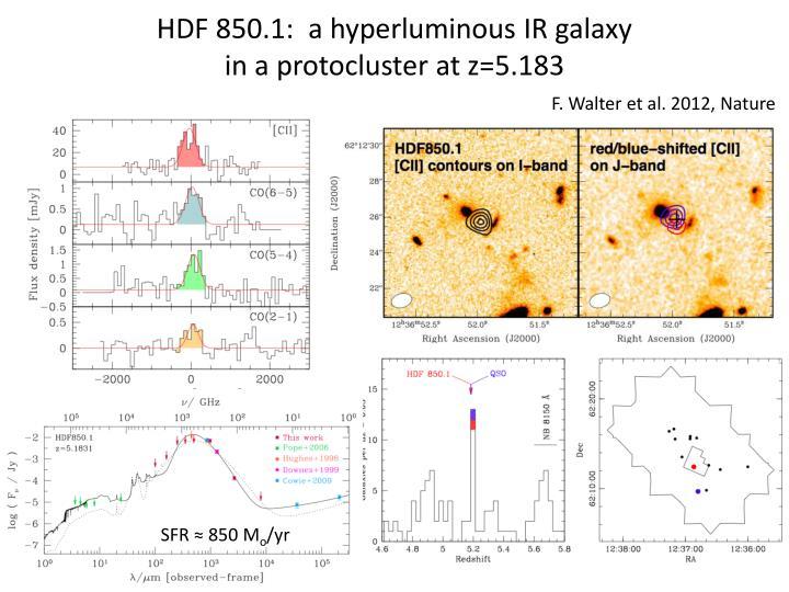 HDF 850.1:  a