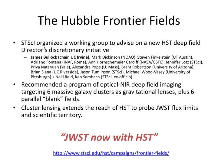The Hubble Frontier Fields