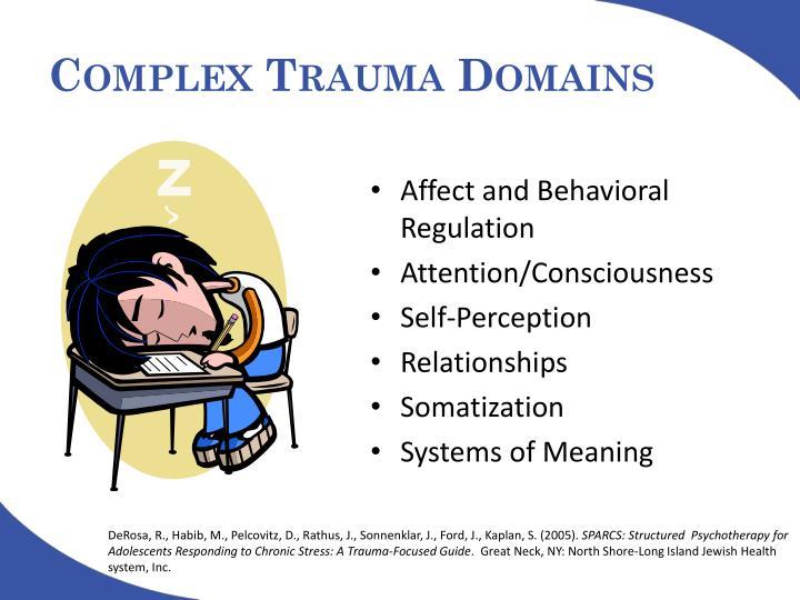 Complex Trauma Domains