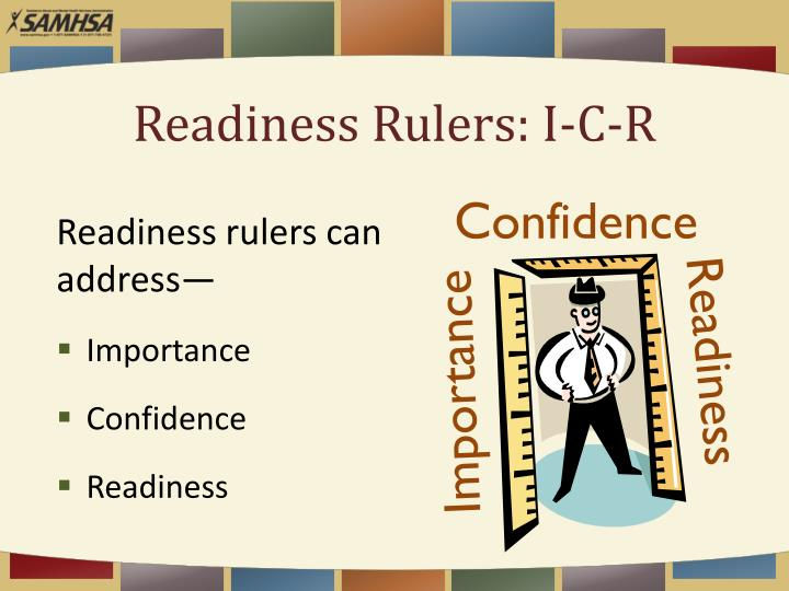 Readiness Rulers: I-C-R