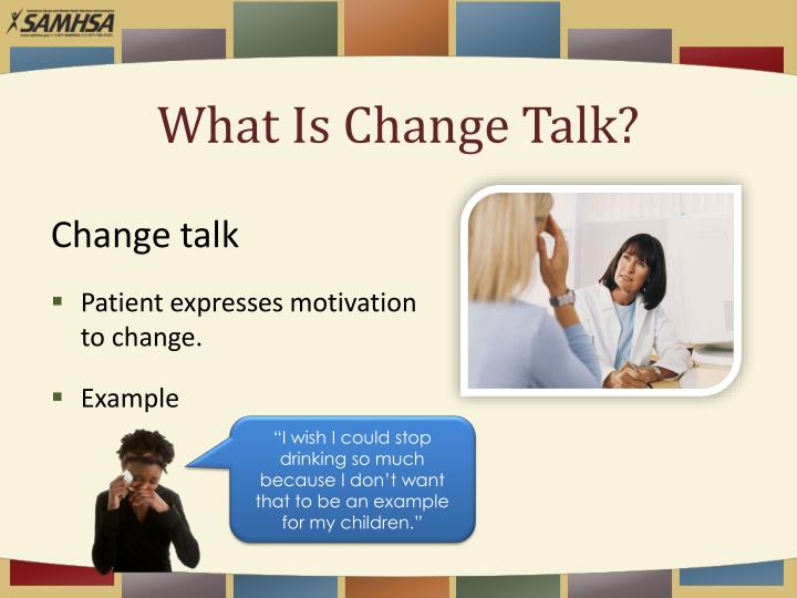 What Is Change Talk?