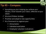 tip 3 compass