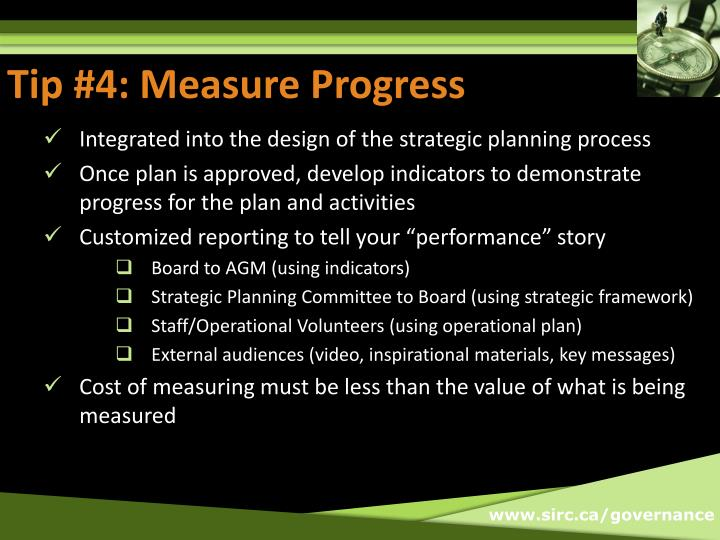 Tip #4: Measure Progress