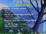 basic scala