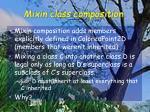 mixin class composition1