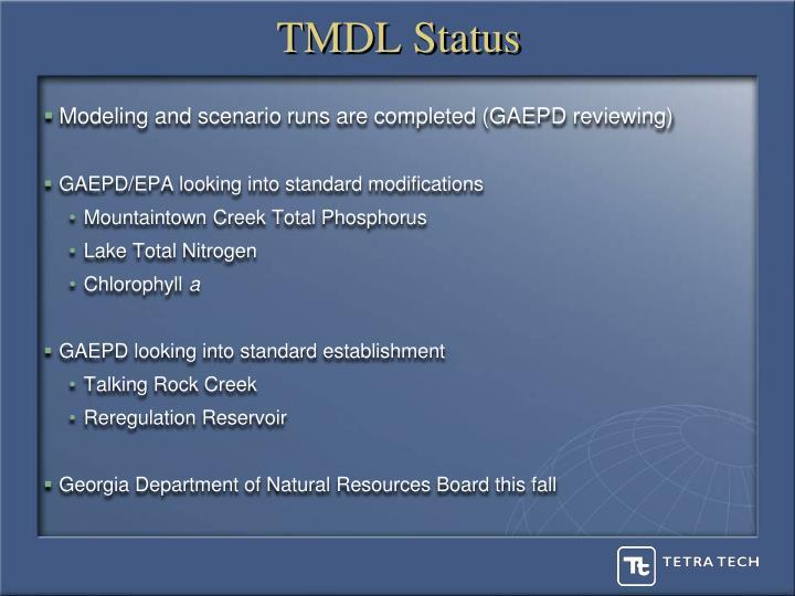 TMDL Status