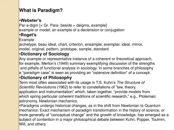 What is Paradigm?