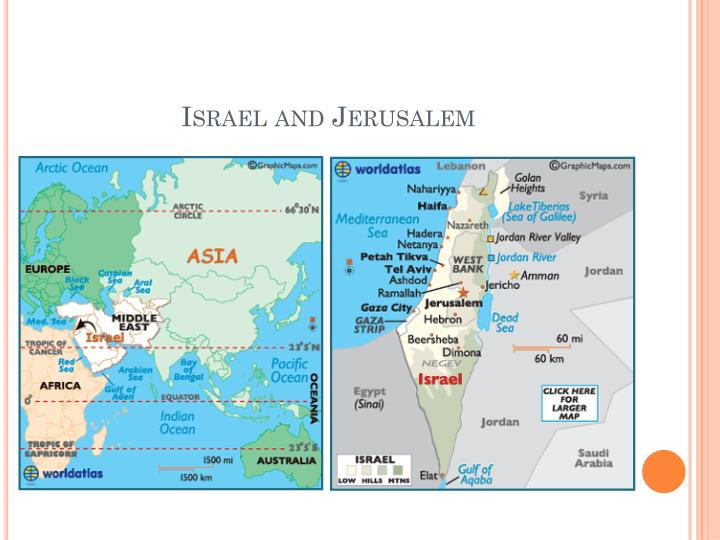 Israel and Jerusalem