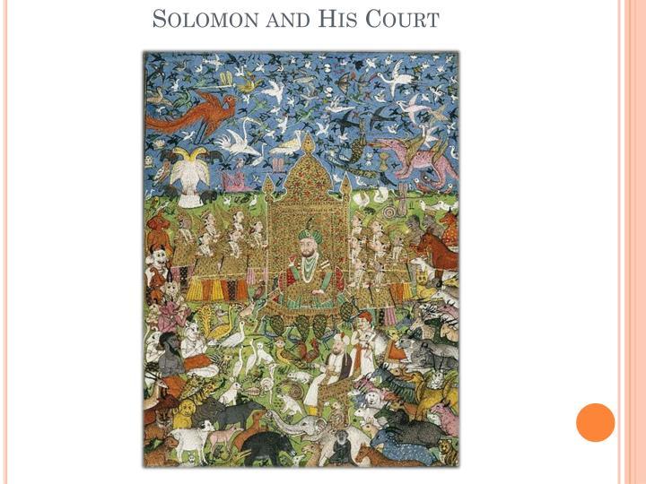 Solomon and His Court