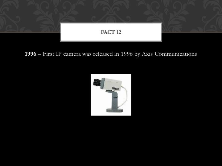 Fact 12