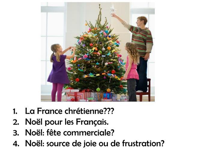 La France chrétienne???