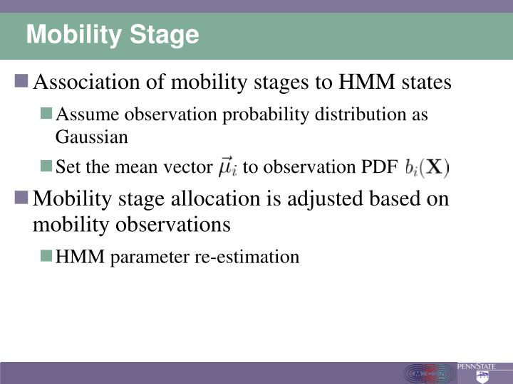 Mobility Stage